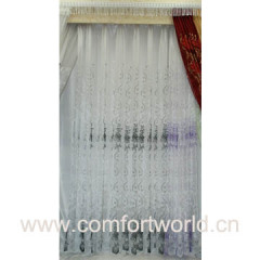 Etched-out Curtain Fabric