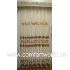 Embroidery Curtain Voile