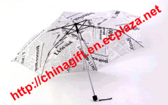 Newspaper Paper umbrella