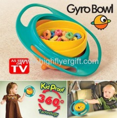 Gyro Bowl Kid proof bowl Spill Proof Bowl