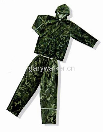 Camouflage Rainsuit