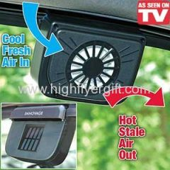 Auto Cool Car Vent As Seen On TV Solar Power Auto Cooler