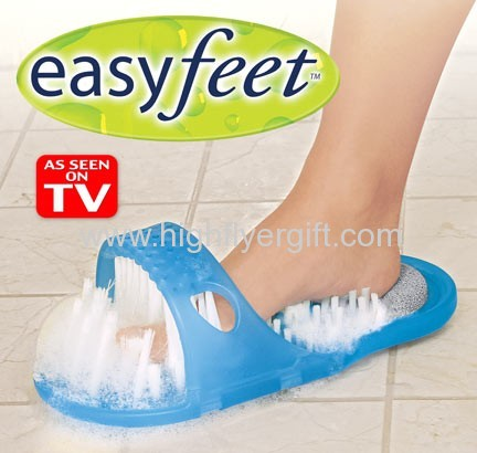 Easy Feet Cleaning Shoes As Seen On TV Easy Feet Foot Scrubber