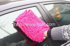 car cleaning glove