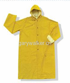 Heavy duty industrial rainsuit