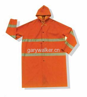 Heavy duty industrial rainwear