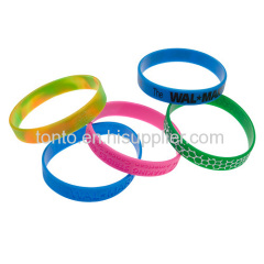 OEM fashion hot selling silicone wristband