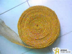 Brass Knitted Wire Mesh