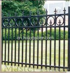 wrought iron guardrail