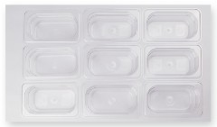polycarbonate food pans with lid w/o handle