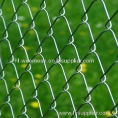 Electro Galvanized Chain Link fenceing