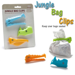 Animal Bag Clips