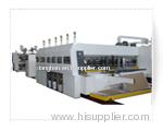 Automatic Flexo Printer Slotter and In-Line Folder Gluer