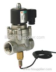 high temperature solenoid valve