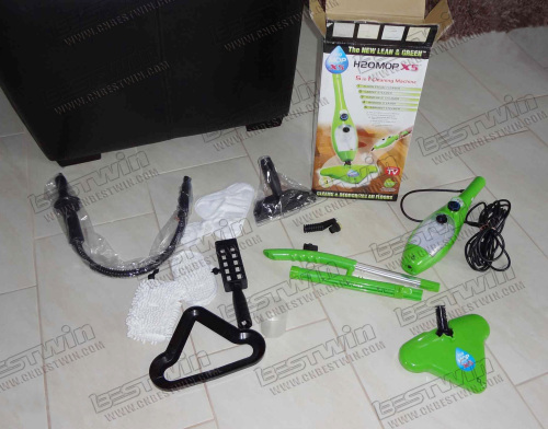 Electric H2O Steam Mop Cleaner