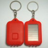 solar keychain with flashlight
