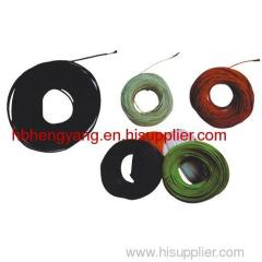 PVC coat carbon fiber yarn