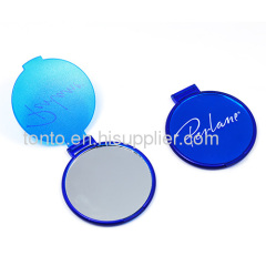 Fashion promotional porket cosmetic compact plastic mirror