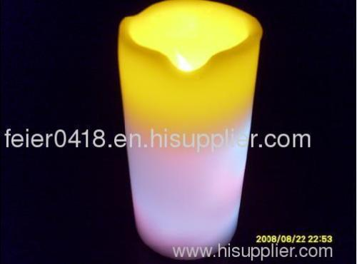 electronic sparkling candle light