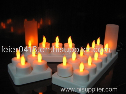 led rechargeabel candle
