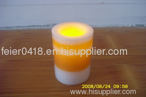 led blow on-off candle