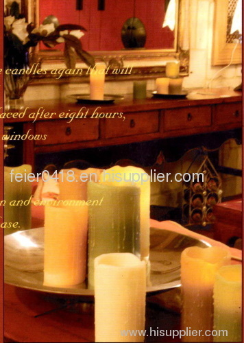 emulational artistic candle light