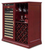 wine cooler , wine cellar , classic solid wood wine cooler