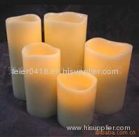resin decrative candle
