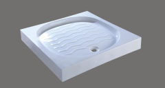 Fitting shower basin