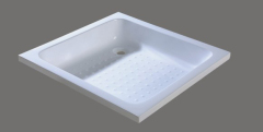 Rectangular shower basin