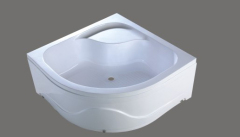 draining shower tray