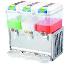 three bowls juice cooler machine