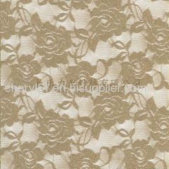 rose design lace fabric stretch fabric