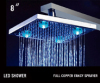 led top shower head