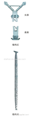 ALUMINUM ALLOY INNER SUSPENDED LATTICE GIN POLE