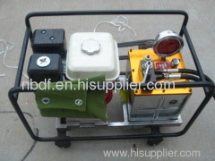 THE motorised hydraulic pump