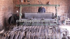 super steel wire crimped mesh screening in mine