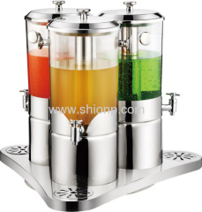 Dispenser succo di frutta Triple
