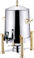 3 GAL COFFEE URN with golden color leg