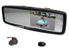 Car Rear View Mirror Reversing Camera System