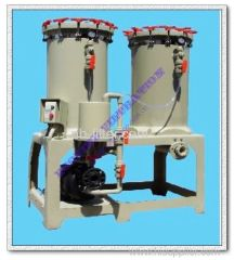Electroplating percolator