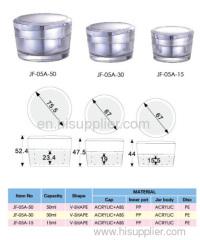 cosmetic acrylic jar 15ml