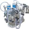 two buckets piston milking machine