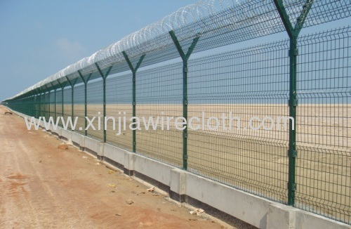 Y type high security fence from china manufacturer