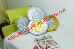Jumbo Coin Cushion Series