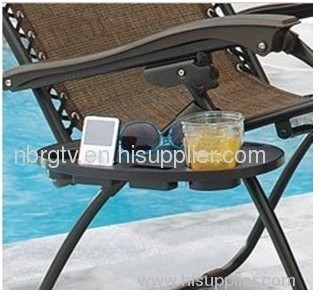 relaxer and beach chair side table