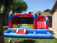 MB-01 The Misty KingdomInflatable Kids Bounce House