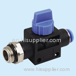 pneumatic hand valve