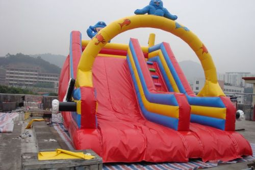IS-72 dry inflatables slide