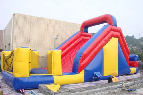 IS-73 big water slide with pool